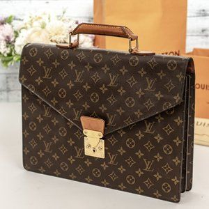 LOUIS VUITTON Macbook Pro Briefcase HARD SHELL
